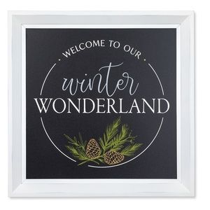 Chalk Couture Welcome To Our Winter Wonderland